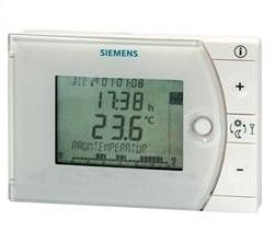 REV17DC Room Thermostat, Radio Clock Siemens