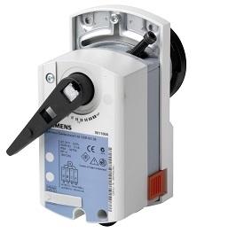 GDB161.9E Привод для шаровых клапанов , поворотный, 5 Nm, DС 0…10V, AC 24V Siemens