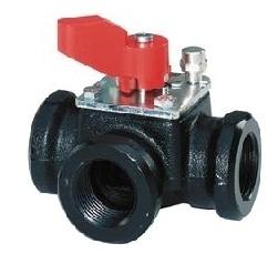 VBI31.40 Башмачковый клапан , 3-х ходовой, Kvs 25, Dn 40, шток 5.5 Siemens