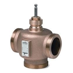 VXG41.1401 Регулирующий клапан , 3-х ходовой, Kvs 2.5, Dn 15, шток 20 Siemens