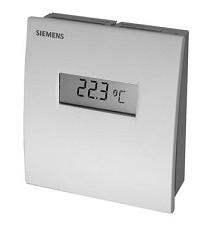 QAA2061D Датчик температуры комнатный , DC0…10V, 0…+50°С Siemens