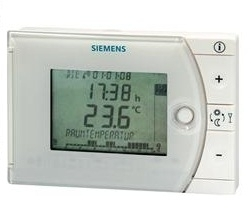 REV24DC Room Thermostat, Radio Clock Siemens