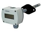 QFM3160D Датчик влажности и температуры канальный 0-10V Display Siemens