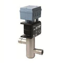 MVL661.32-12 Электромагнитный клапан с модулирующим управлением (резьбовой) для холодильников и тепловых насосов, [m?/h] 8…12, DN 32 Siemens