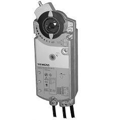 GCA166.1E Привод воздушной заслонки , поворотный, 18 Nm, пружинный возврат, DС 0…10V, AC/DC 24 Siemens