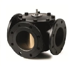 VBF21.125 Башмачковый клапан , 3-х ходовой, Kvs 550, Dn 125, шток 5.5 Siemens