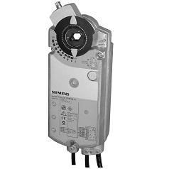 GIB161.1E Привод воздушной заслонки , поворотный, 35 Nm, DС 0…10V, AC 24V Siemens