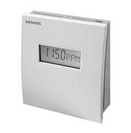 QPA2062D Датчик качества воздуха комнатный СО2: 0…2000ppm, темп: 0…50°С /-35…+35°С, вл. 0…95% (несост.) Siemens