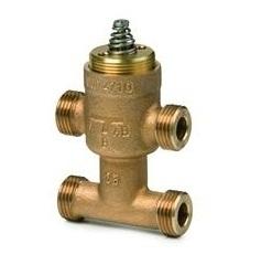 VMP47.10-0.4 Регулирующий клапан , 3-х ходовой, Kvs 0.4, Dn 10, шток 2.5 Siemens