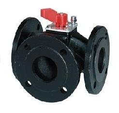 VBF21.150 Башмачковый клапан , 3-х ходовой, Kvs 550, Dn 150, шток 5.5 Siemens