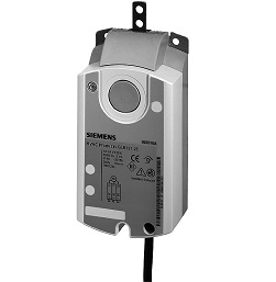 GDB161.2E Привод воздушной заслонки , линейный, 5 Nm, DС 0…10V, AC 24V Siemens