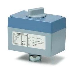 SQS65.2 Привод клапана для резьбовых клапанов с ходом штока 5.5 mm, AC 24 V, DC 2…10V Siemens