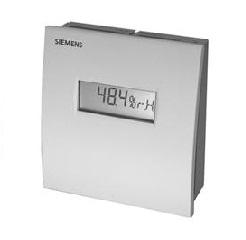 QFA2060D Датчик влажности и температуры комнатный, DC0…10V, 0…95%, -15…+50 ?C, дисплей Siemens