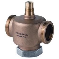 VVG44.15-0.4 Регулирующий клапан , 2-х ходовой, Kvs 0.4, Dn 15, шток 5.5 Siemens
