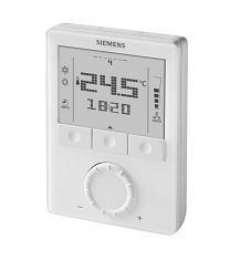 RDG100T Комнатный термостат с расписанием Siemens