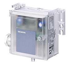 QBM3020-3 Датчик перепада давления , 0…10 V DC, 0...300 Pa Siemens