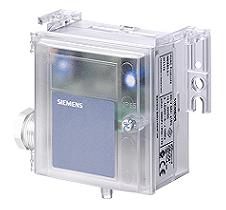 QBM3020-10 Датчик перепада давления , 0…10 V DC, 0...1000 Pa Siemens