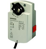 GSD121.1A Привод воздушной заслонки , поворотный, 2 Nm, SPST, AC 24V Siemens