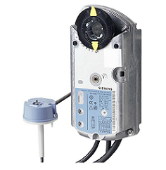 GNA326.1E/T12 Привод противопожарной заслонки противопожарной, 7 Nm, пружинный возврат, 2-поз., AC 230V Siemens