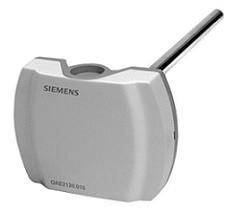 """QAE2120.010 Датчик температуры погружной , LG-Ni 1000, -30…+130°С, вкл. защитную гильзу G1/2"""" Siemens"""
