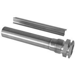 "ALT-DS100J Защитная гильза, 100 мм, G?"" LW15, нержавеющая сталь V4A"