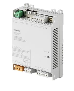 DXR2.E09-101A Комнатный контроллер BACnet/IP, AC 24В (1 DI, 2 UI,3 DO, 3 AO)