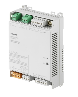 DXR2.M09-101A Комнатный контроллер BACnet MS/TP, AC 230 В (1 DI, 2 UI,3 DO, 3 AO)