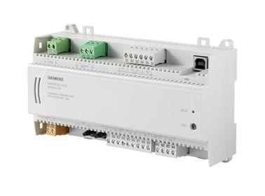 DXR2.M12P-102A Комнатный контроллер BACnet MS/TP, AC 24В (1 DI, 2 UI, ?P ,6 DO 2 AO)