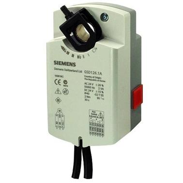GSD126.1A Привод воздушной заслонки Siemens