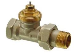 Клапан радиаторный, 2-ходовой седельный, NF, 2-Х трубная система, PN10, DN15, KVS 0.10..0.89 VDN215