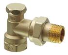 Клапан радиаторный угловой, PN10, DN10, KVS 0..1.8 AEN10