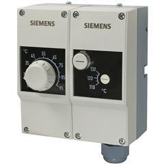 RAZ-ST.011FP-J Контроллер температуры / ограничивающий термостат, TR 15...95 °C / STB 100°C, двойная защитная гильза 100 мм; две капиллярных трубки по 700 мм
