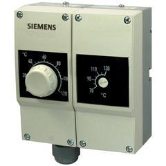 RAZ-TW.1000P-J Контроллер температуры / ограничивающий термостат со сбросом по температуре,  15...95 °C, двойная защитная гильза 100 мм; две капиллярных трубки по 700 мм