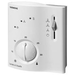 RCC20 Электронные контроллеры комнатной температуры для 2-трубных фэнкойлов с электрокалорифером