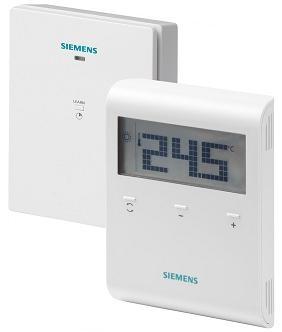 RDD100.1-XA Комнатный термостат в блистерной упаковке Siemens