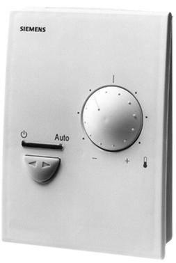 RXC10.5/00010 Комнатные контроллеры для радиаторов, охлаждающих потолков и систем VAV с коммуникацией LonWorks и базовым приложением OOO10