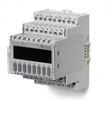 TXM1.8X-ML Модуль 8 универсальных входов/выходов, 4-20mA, локальное управление и ЖК-дисплей